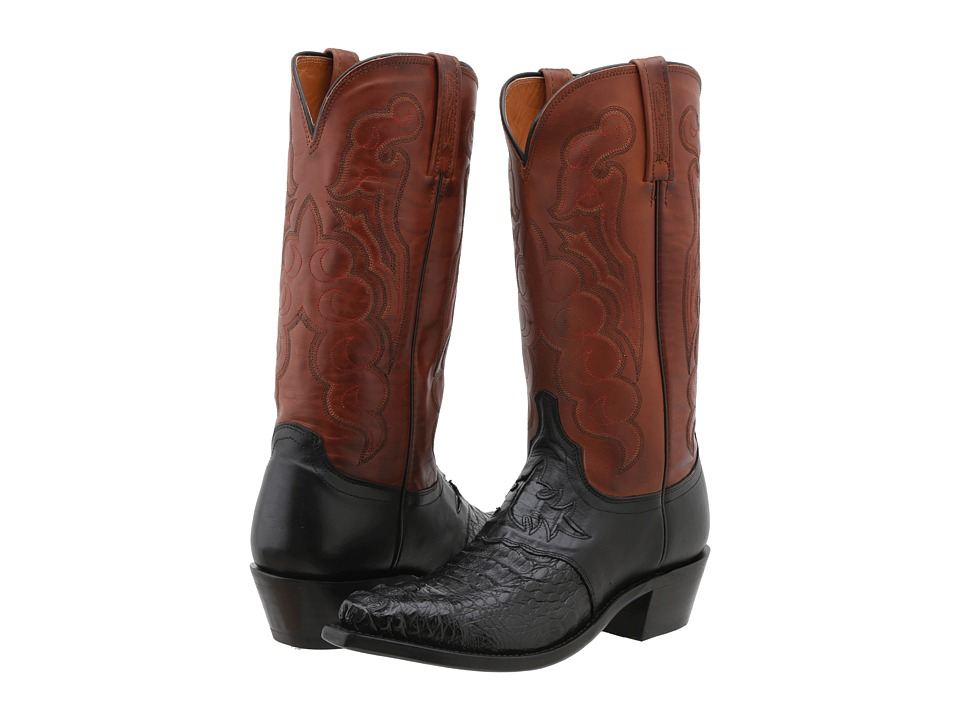 Lucchese - M2537.54 (Black) Cowboy Boots