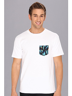 SALE! $9.99 - Save $15 on Quiksilver S S Patched Up Tee (Echo White) Apparel - 59.22% OFF $24.50