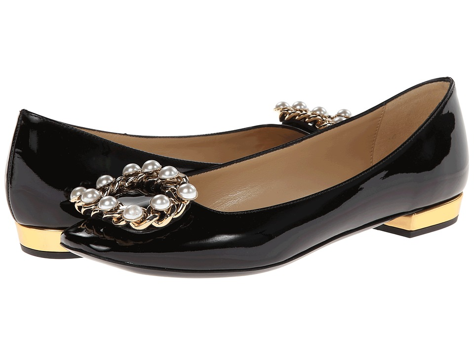 Kate Spade New York Nolina Womens Dress Flat Shoes (Black)