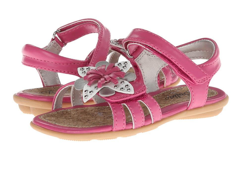 Jumping Jacks Kids - Coralie (Toddler/Little Kid/Big Kid) (Rosebud Pink/Multi Trim) Girl's Shoes