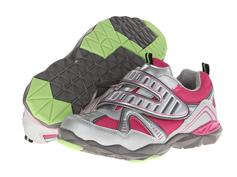Jumping Jacks Kids - Turbo (Toddler/Little Kid) (Silver/Pink/Black/Gray) Girl's Shoes