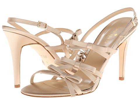 Kate Spade New York Sally (Champagne Satin) High Heels
