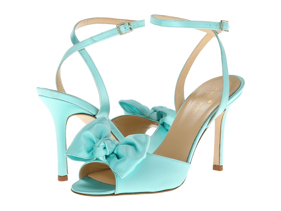 Kate Spade New York - Ilexa (Grace Blue Satin) High Heels