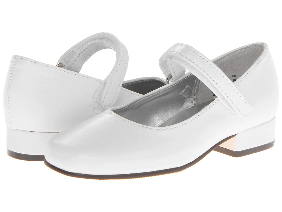 Jumping Jacks Kids - Beauty (Toddler/Little Kid) (White Smooth) Girl's Shoes