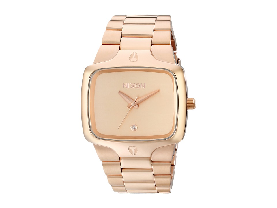 Nixon - Player (All Rose Gold/Gold) Watches