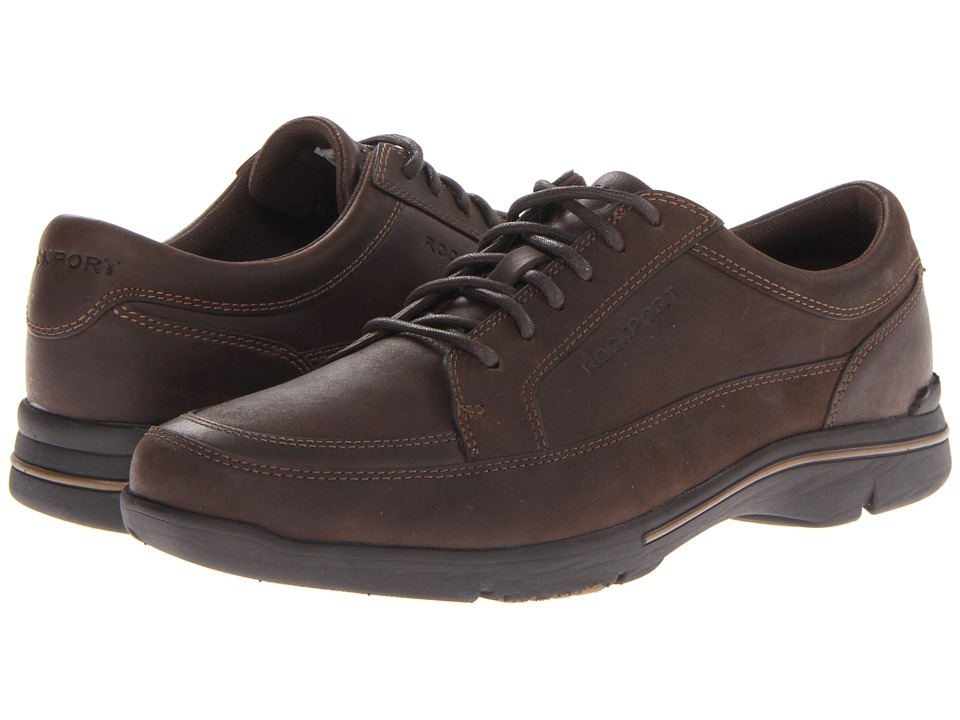 Rockport - City Play Mudguard Oxford (Chocolate) Men's Shoes