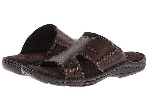 Rockport - Kevka Lake Slide (Brown) Men