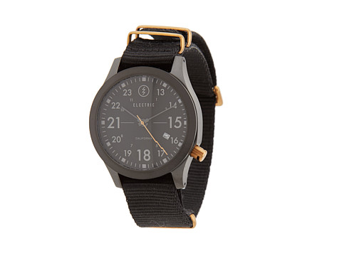 Electric Eyewear - FW01 Nato (All Black/Copper) Watches