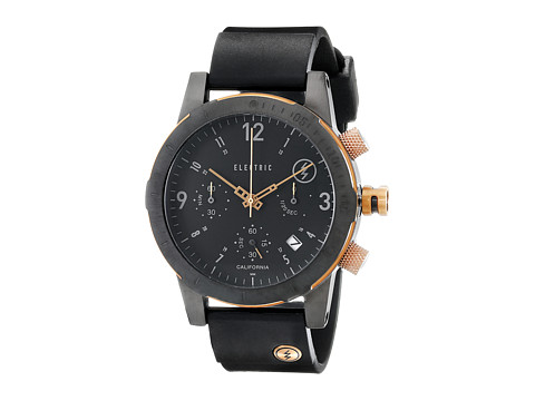 Electric Eyewear - FW02 PU (All Black/Copper) Watches