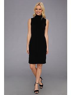 SALE! $45.99 - Save $84 on Calvin Klein S L Turtleneck Dress M3HB7987 (Black) Apparel - 64.49% OFF $129.50