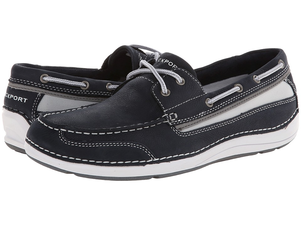 Rockport - Shoal Lake 2 Eye Boat (Dress Blues) Men
