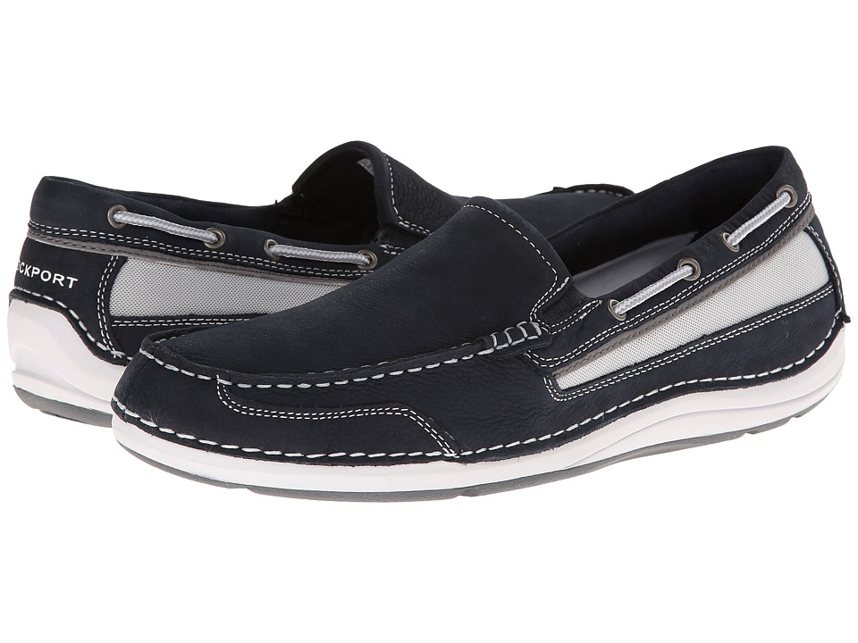 Rockport - Shoal Lake Slip-On (Dress Blues) Men's Shoes