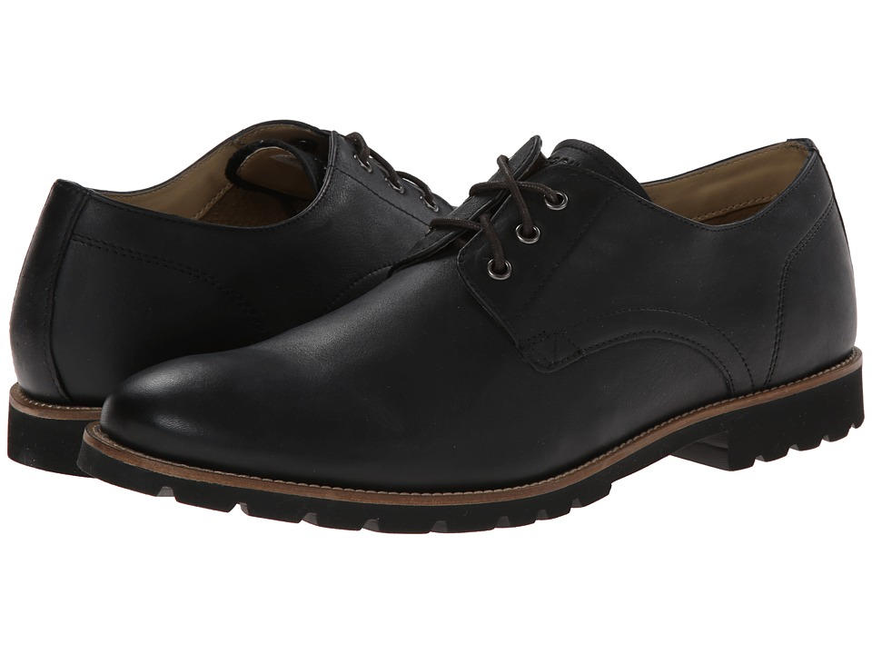 Rockport Sharp Ready 3 Eye (Black) Men