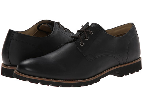 Rockport - Sharp Ready 3 Eye (Black) Men's Shoes