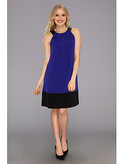 SALE! $44.99 - Save $65 on Calvin Klein Trapunto Dress (Byzantine) Apparel - 58.91% OFF $109.50