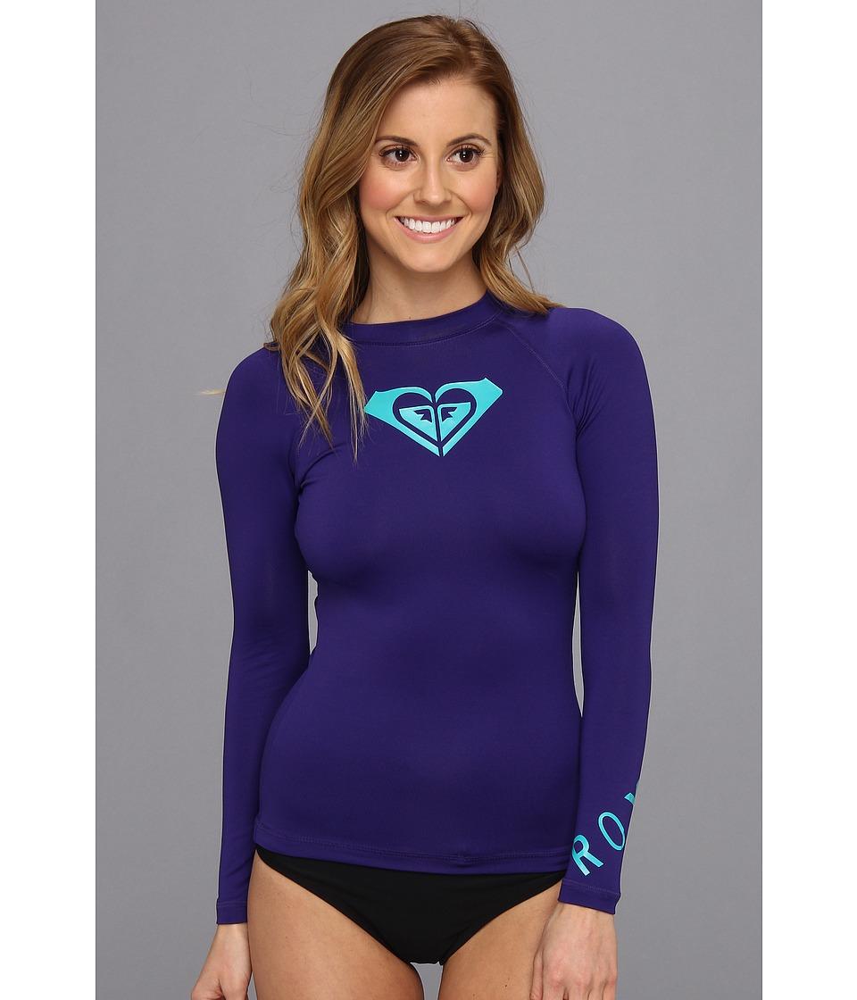Roxy Whole Hearted L/S Surf Shirt Womens Swimwear (Blue)