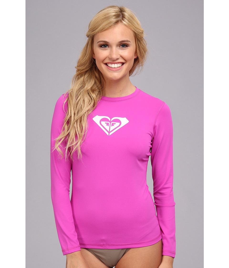 Roxy Basically Roxy L/S Surf Shirt Womens Swimwear (Pink)