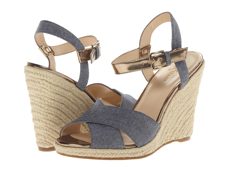 Cole Haan Hart Wedge (Denim/Ch Gold Specchio) Women