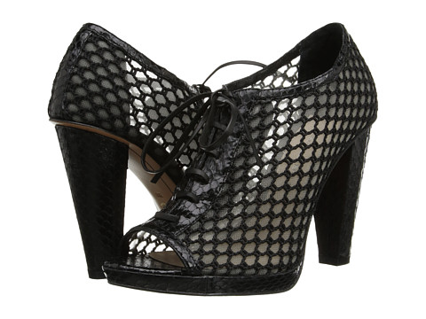 10 Crosby Derek Lam - Jemma (Black Semi Shine Snake) High Heels