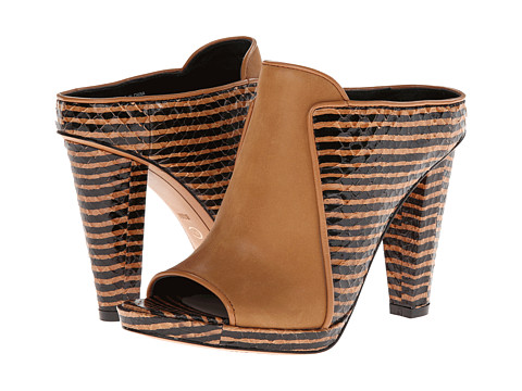 10 Crosby Derek Lam - Jiles (Brown Zebra Haircalf Print) High Heels