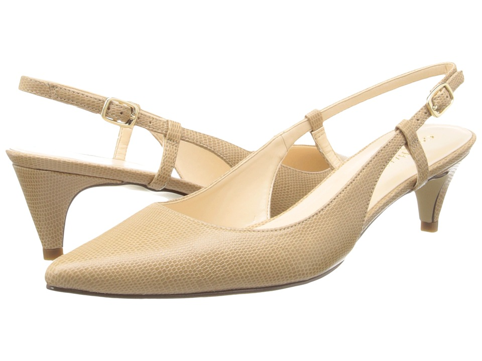 Cole Haan - Juliana Low Sling 45 (Sandstone Lizard Print) Women's Shoes
