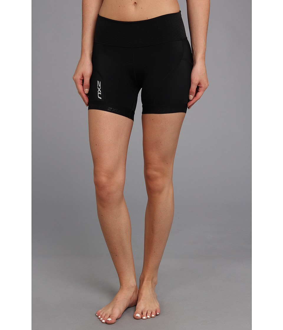 2XU - Perform Low Rise Tri Short (Black/Black) Women