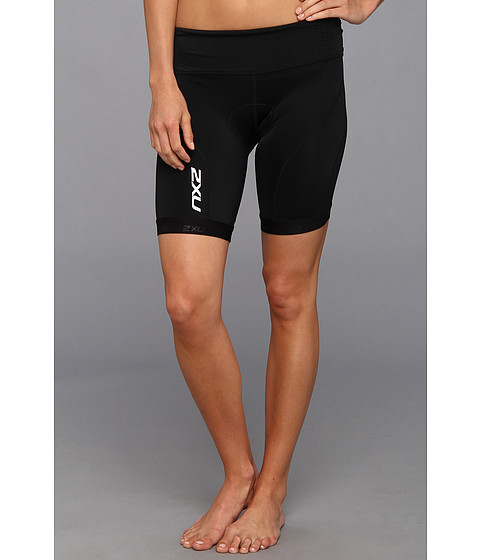 2XU - Perform Tri Short (Black/Black) Women