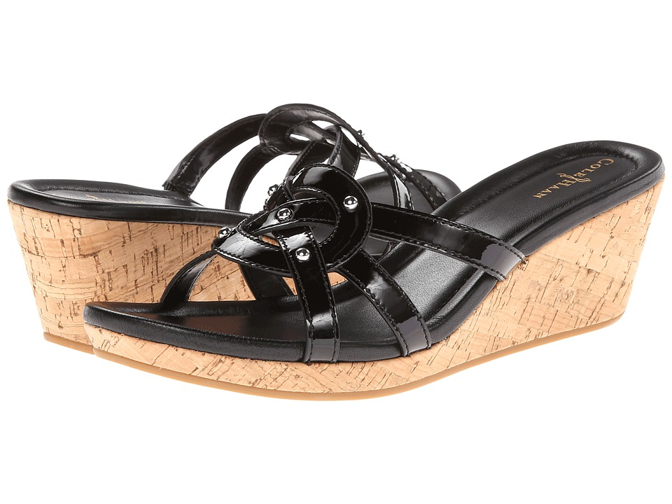 Cole Haan - Shayla Slide (Black Patent) Women