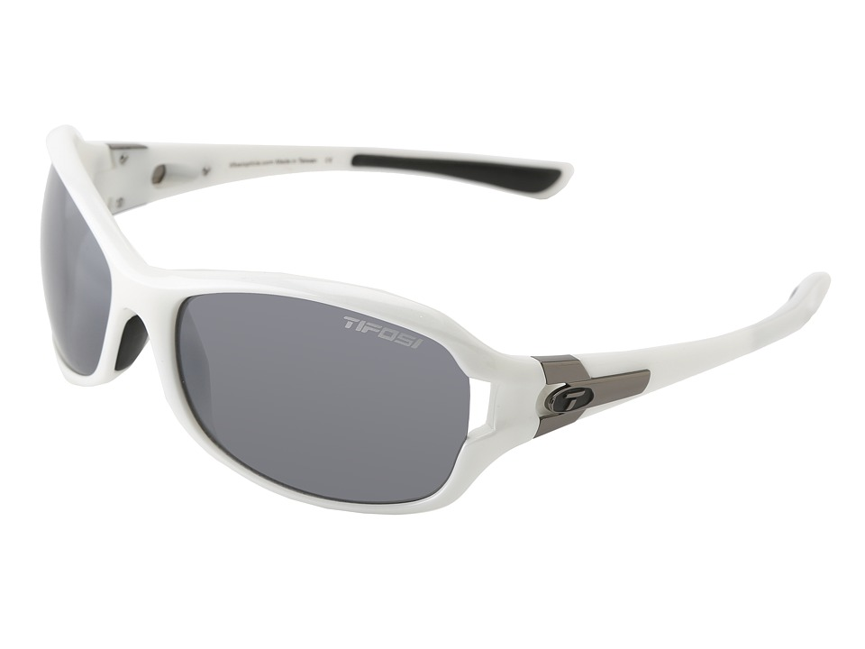 Tifosi Optics - Dea SL (Pearl White/Smoke Lens) Athletic Performance Sport Sunglasses