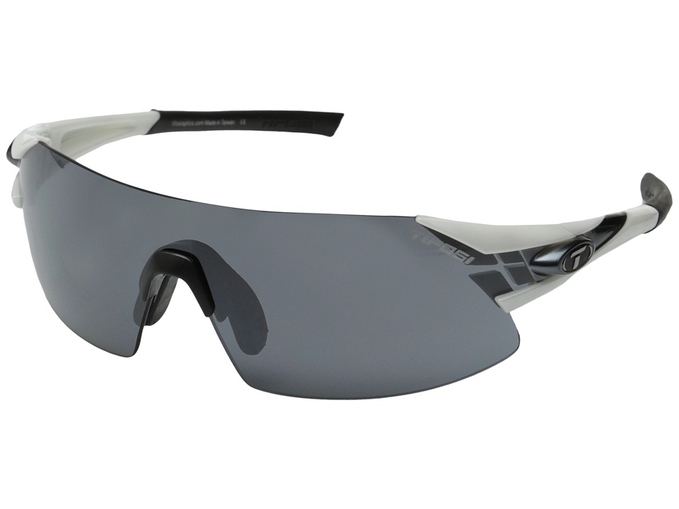Tifosi Optics - Podium XC Golf Interchangeable (White/Gunmetal) Athletic Performance Sport Sunglasses
