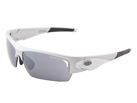 Tifosi Optics - Lore Golf Interchangeable (Silver/White/Smoke/GT/EC Lens) Athletic Performance Sport Sunglasses