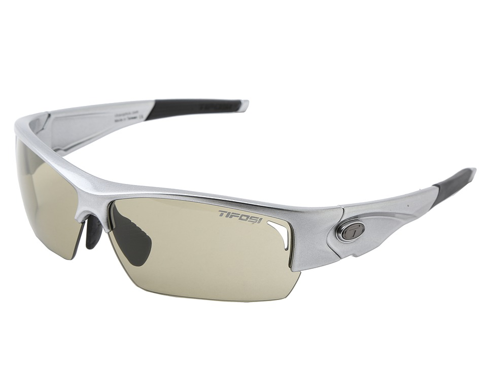 Tifosi Optics - Lore Fototec - All Terrain Green (Gloss Gunmetal/All Terrain Green Fototec Lens) Athletic Performance Sport Sunglasses