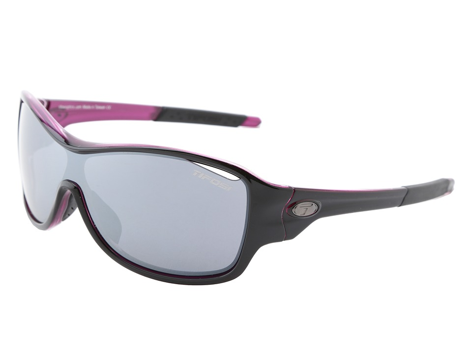 Tifosi Optics - Rumor Interchangeable (Black/Pink/Smoke/AC Red/Clear Lens) Athletic Performance Sport Sunglasses
