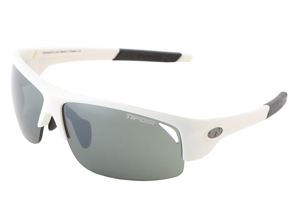 Tifosi Optics - Saxon (Matte White/GT Lens) Athletic Performance Sport Sunglasses