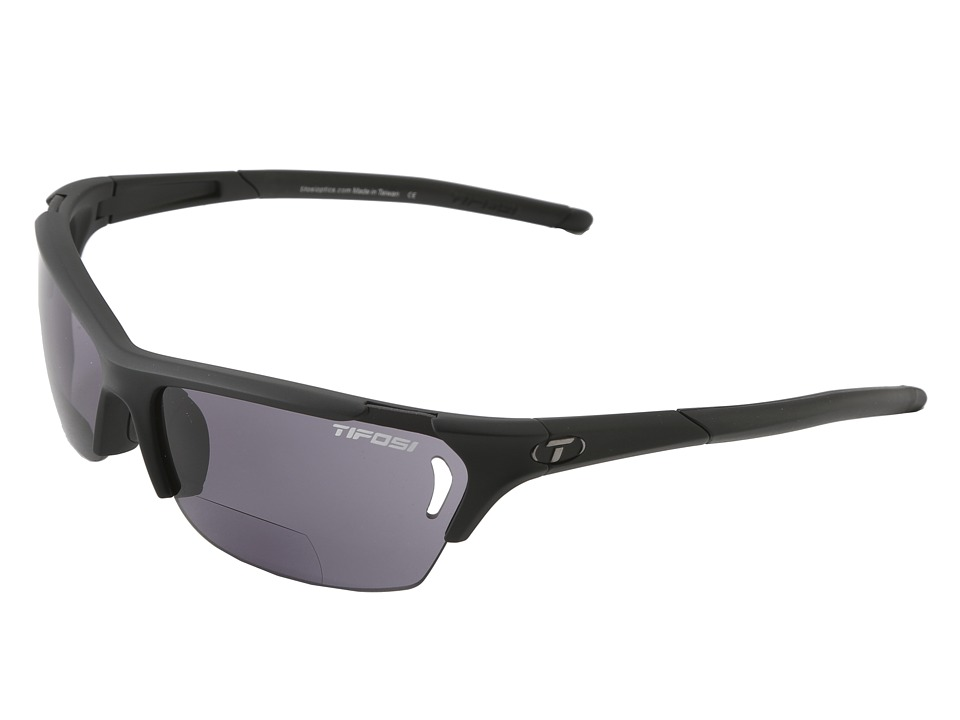 Tifosi Optics - Radius Reader (Matte Black/Smoke Reader/+1.5) Athletic Performance Sport Sunglasses