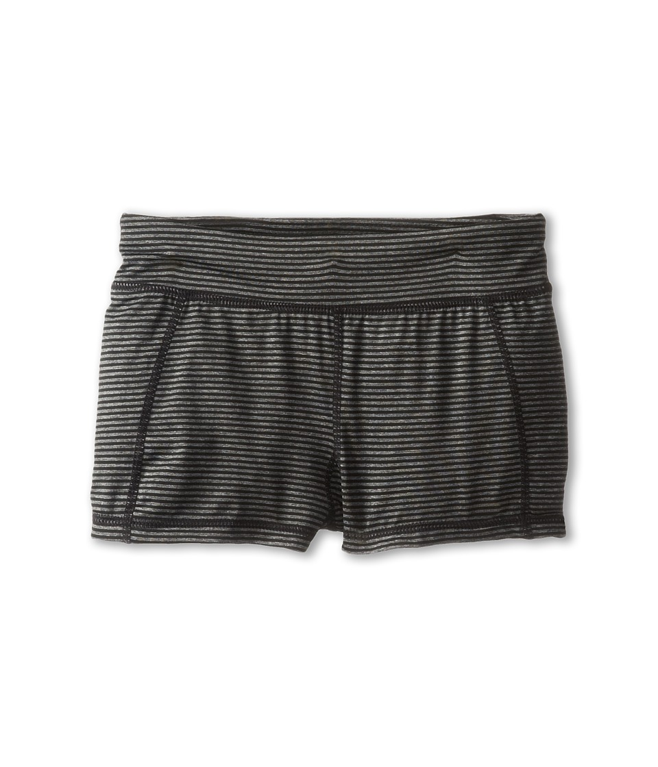 Soybu Kids - Sporty Short (Little Kids/Big Kids) (Black Mini Stripe) Girl's Shorts