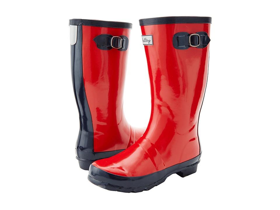Hatley Kids - Splash Boots (Toddler/Little Kid) (Red) Girls Shoes