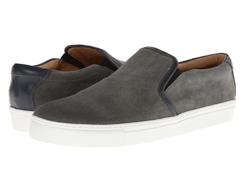 JD Fisk - Cael (Grey) Men's Slip on Shoes