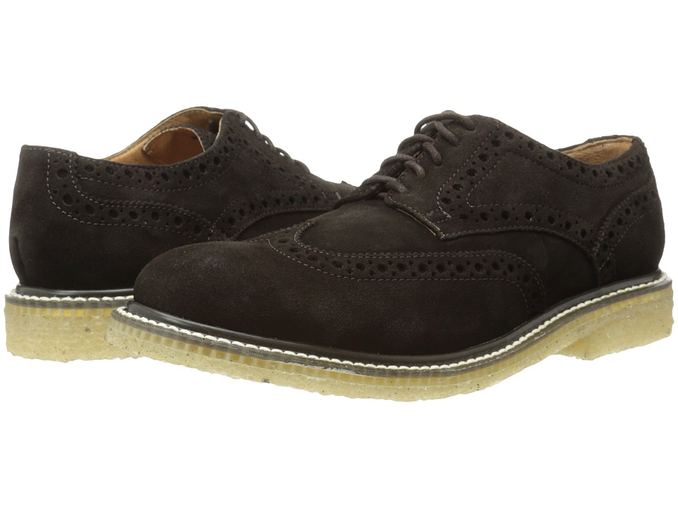 JD Fisk - Cash (Dark Brown) Men's Plain Toe Shoes