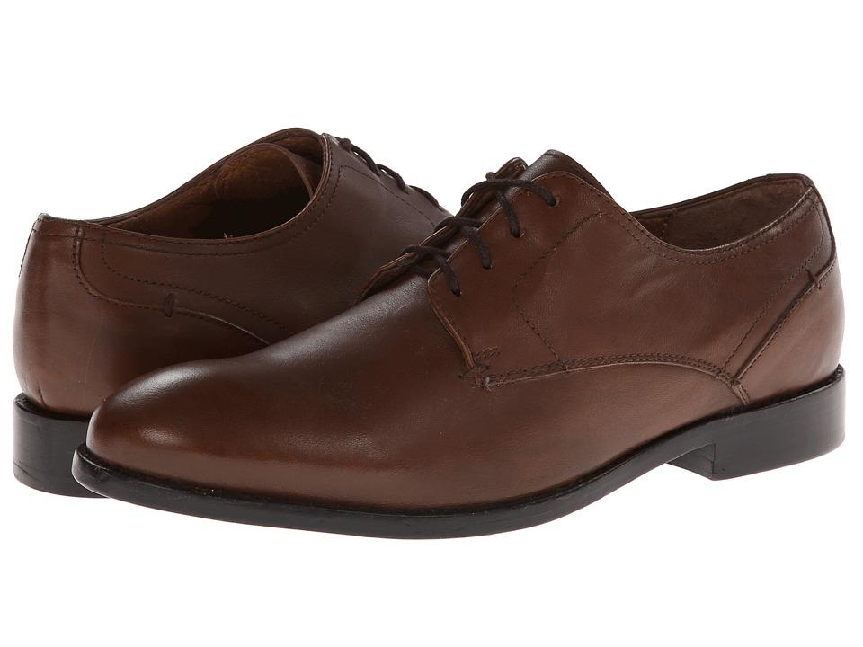 JD Fisk - Jenner (Tan) Men's Plain Toe Shoes