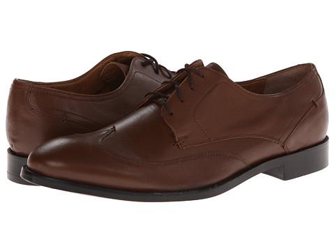 JD Fisk - Jericho (Brown) Men's Plain Toe Shoes