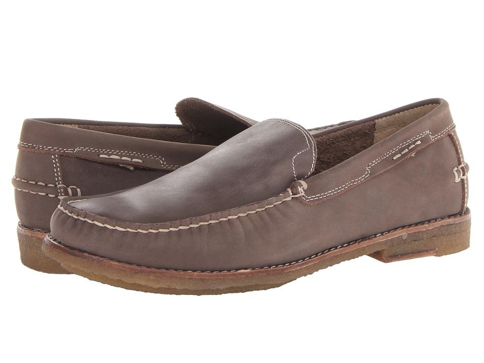 JD Fisk - Liddon (Taupe) Men's Slip-on Dress Shoes