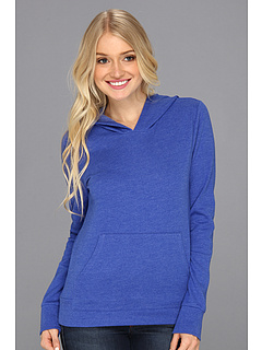 SALE! $24.99 - Save $17 on Hurley Solid Slim Fleece Pullover (Heather Varsity Blue) Apparel - 40.50% OFF $42.00