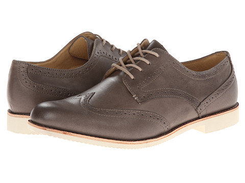 JD Fisk - Sadler (Grey) Men's Lace Up Wing Tip Shoes