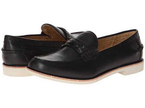 JD Fisk - Scully (Black) Men's Slip on Shoes