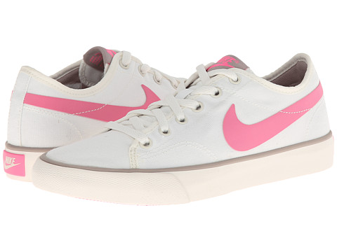 Nike - Primo Court Canvas (Sail/Medium Orewood Brown/Pink Glow) Women