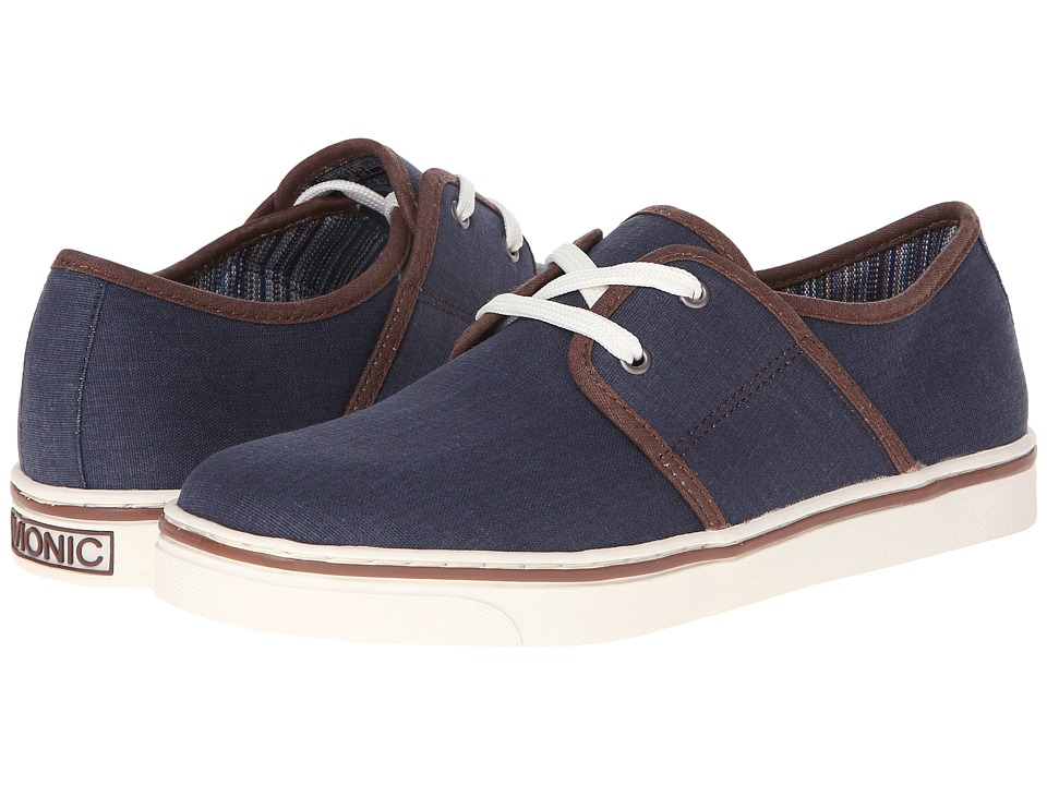 VIONIC - Bryson (Navy) Men's Lace up casual Shoes