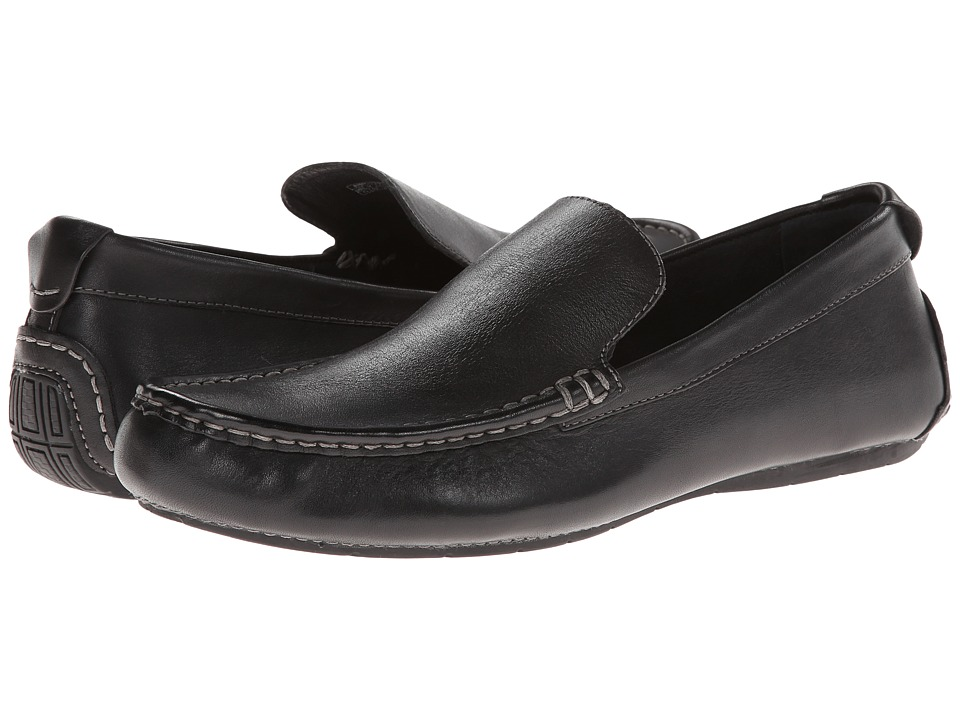 VIONIC - Parker (Black) Men's Slip on Shoes