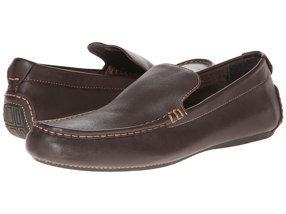 VIONIC - Parker (Chocolate) Men's Slip on Shoes