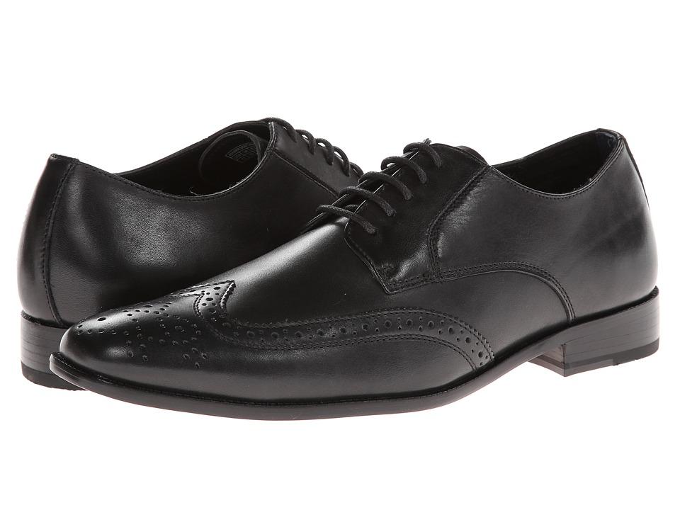 VIONIC - Harrison (Black) Men's Lace Up Wing Tip Shoes